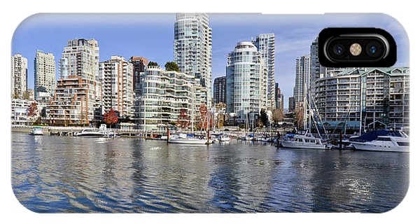 False Creek And Vancouver IPhone Case
