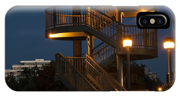 False Creek Stairway IPhone Case