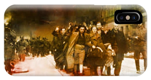 Families Sent  To Death Camps IPhone Case