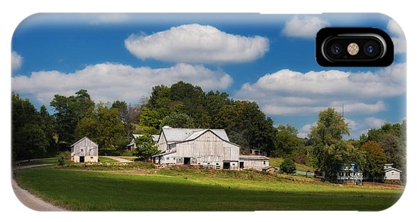 Barn iPhone Case - Family Farm by Tom Mc Nemar