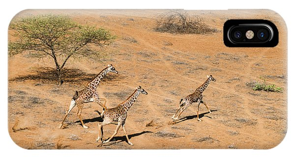 Africa iPhone X Case - Family Paradise by John Fan