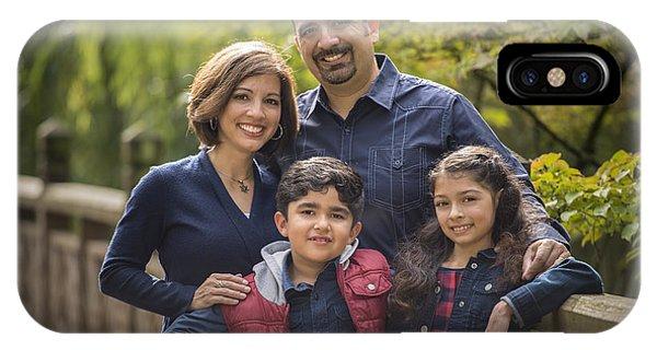 Family Portrait On Bridge - 1 IPhone Case