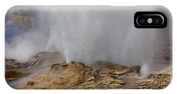 Fan And Mortar Erupt IPhone Case