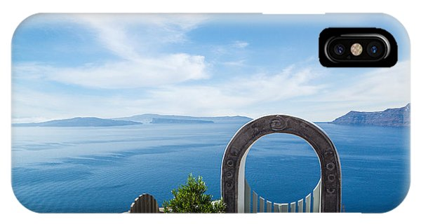Fanastic View From Santorini Island IPhone Case