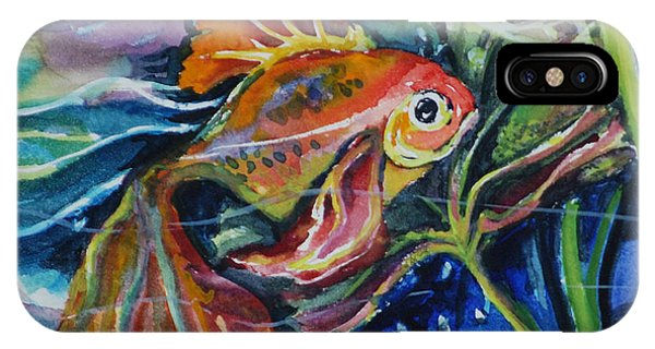 Fanciful Fish IPhone Case