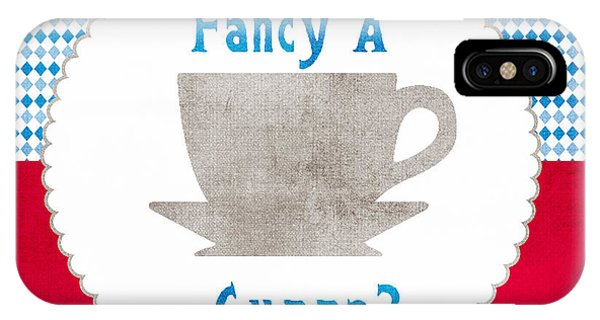 Beverage iPhone Case - Fancy A Cup by Linda Woods