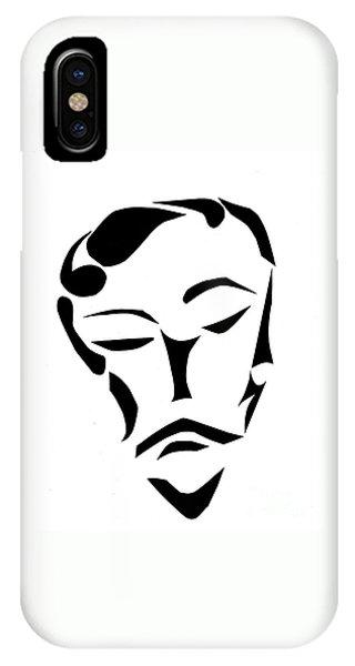 Fancy Man IPhone Case