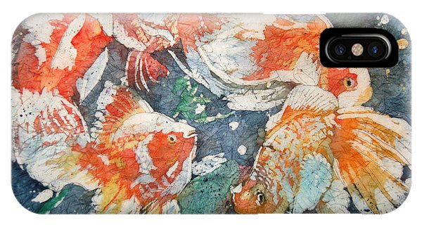 iPhone Case - Fancy Tails by Karen Langley