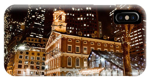 Faneuil Hall Boston Ma  IPhone Case