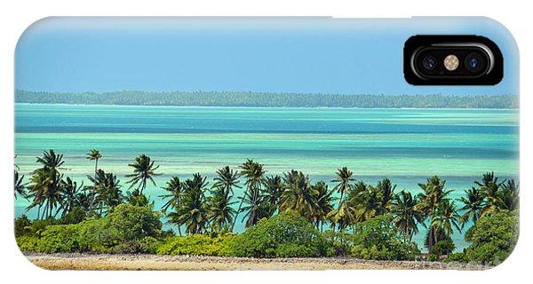 Fanning Island IPhone Case
