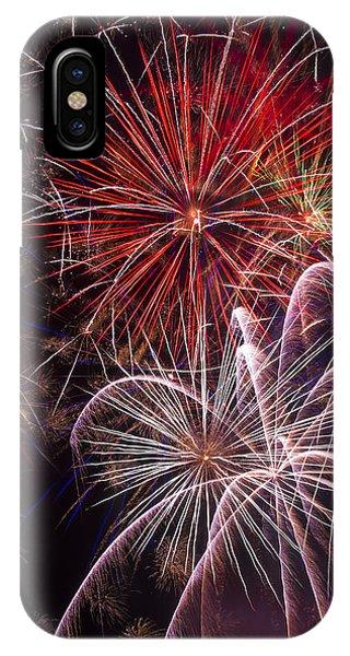 Fantastic Fireworks IPhone Case