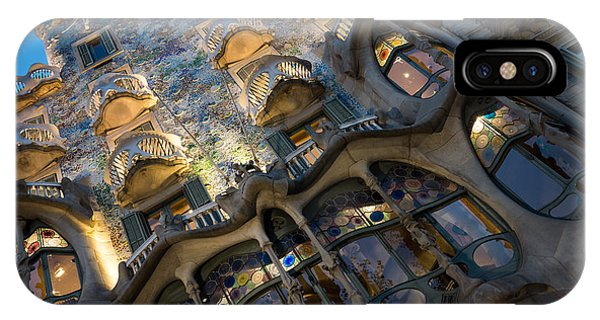 Fantastical Casa Batllo - Antoni Gaudi Barcelona IPhone Case