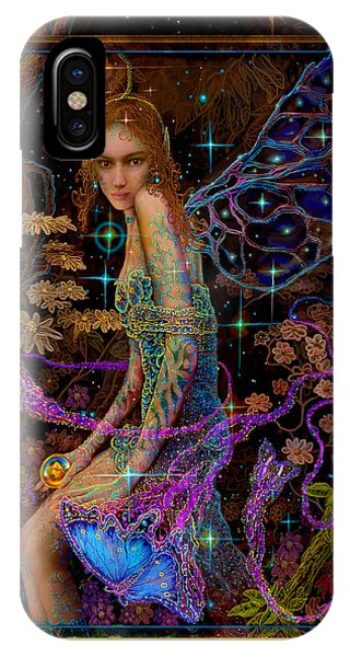 Fantasy Fairy Princess-angel Tarot Card IPhone Case