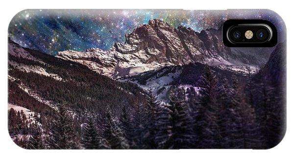 Fantasy Mountain Landscape IPhone Case