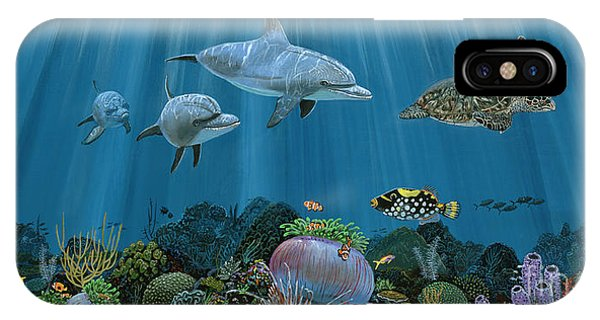 Monterey iPhone Case - Fantasy Reef Re0020 by Carey Chen