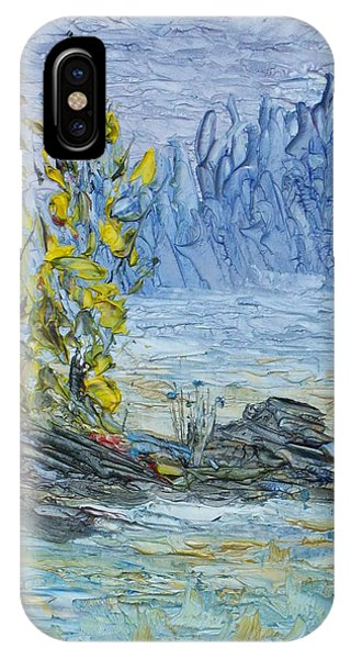 Far Off Woodland Lough Hyne. IPhone Case