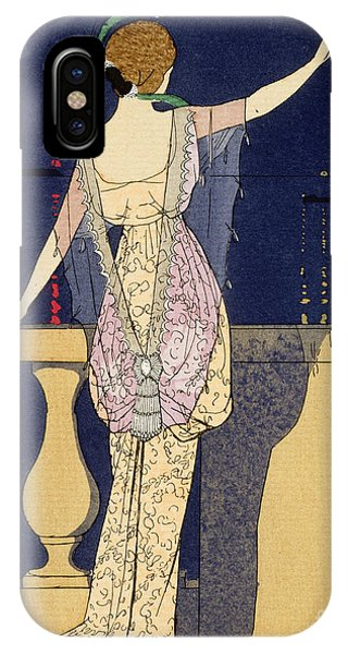 Elegant iPhone Case - Farewell At Night by Georges Barbier