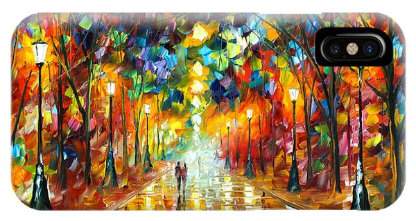 Magician iPhone Case - Farewell To Anger by Leonid Afremov