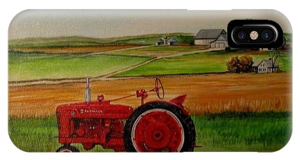 Farm All Tractor Phone Case by Kendra Sorum