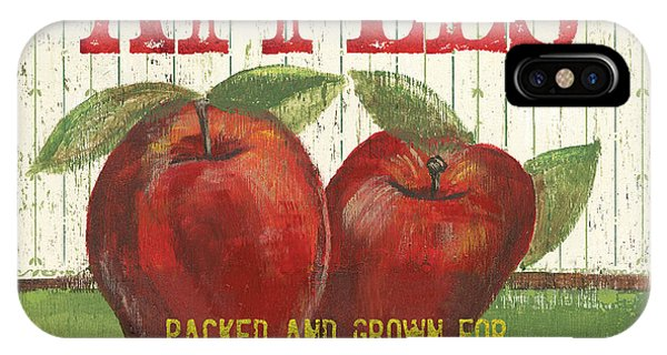 Vintage iPhone Case - Farm Fresh Fruit 3 by Debbie DeWitt