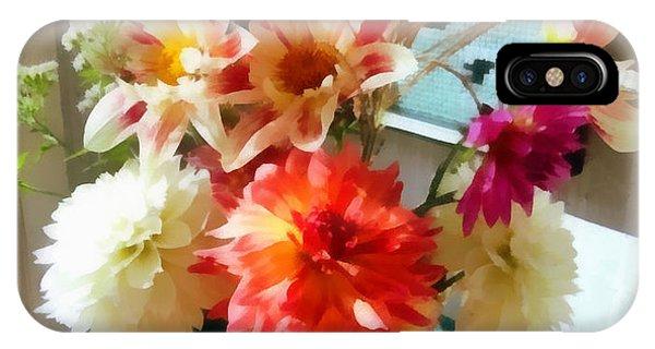 Farm Table Bouquet IPhone Case