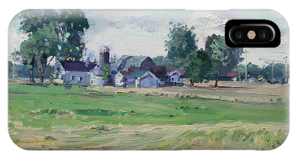Barn iPhone Case - Farm by Ylli Haruni