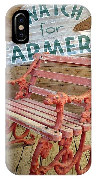 Farmer Bench IPhone Case
