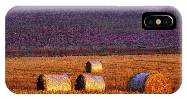 Agriculture iPhone Case - Farmers Field by Allan Wallberg
