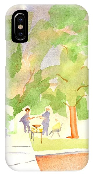 Courthouse iPhone Case - Farmers Market Vll by Kip DeVore
