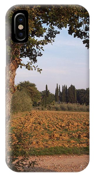 farming in Tuscany IPhone Case