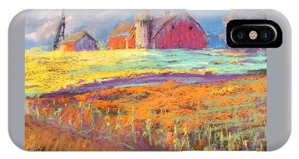 Farmland Sunset IPhone Case