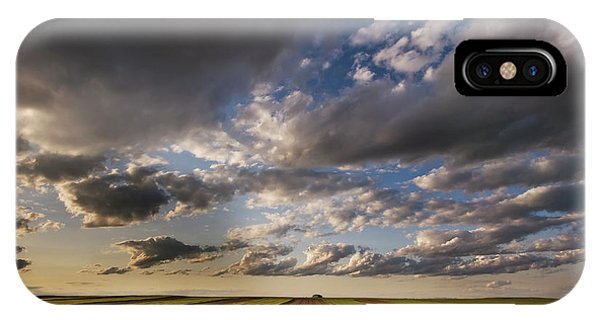 Montana State iPhone Case - Farmland Under A Big Sky by Doug Roane