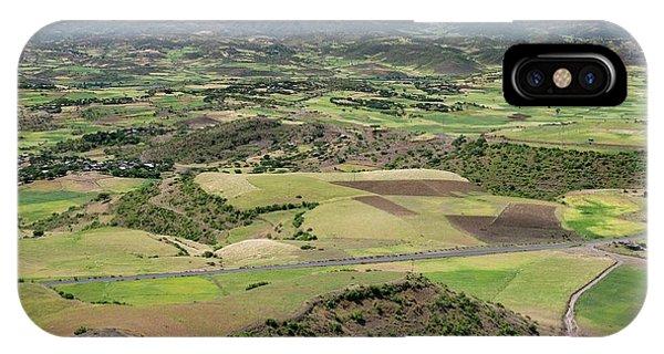 Farmlands Near Lalibela IPhone Case