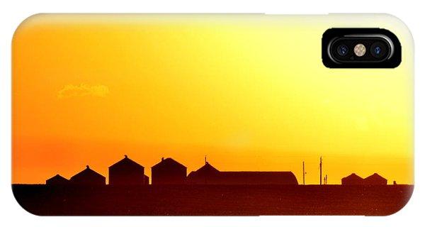 Farmstead At Sundown IPhone Case
