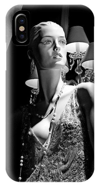 Fashionable Lady IPhone Case