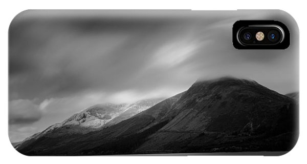 Fast Clouds Over Loch Ness IPhone Case