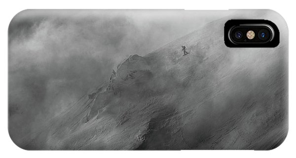 Fog iPhone Case - Faster Than Clouds by Peter Svoboda, Mqep