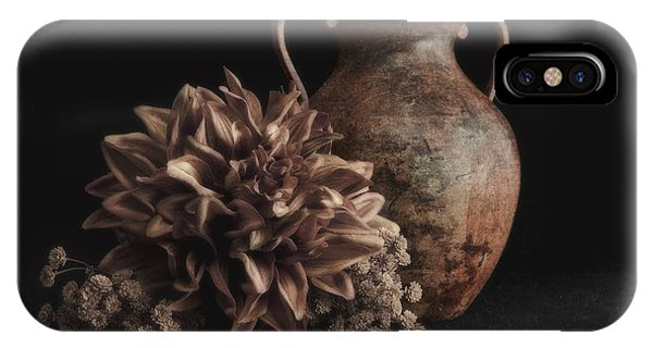 Soft Focus iPhone Case - Faux Flower Still Life by Tom Mc Nemar
