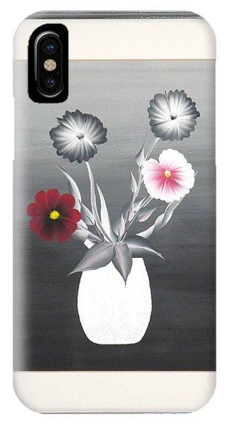Faux Flowers II IPhone Case