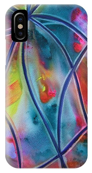 Faux Stained Glass II IPhone Case