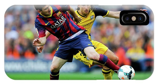 Fc Barcelona V Club Atletico De Madrid IPhone Case