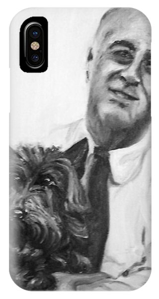 Fdr And Fala  IPhone Case