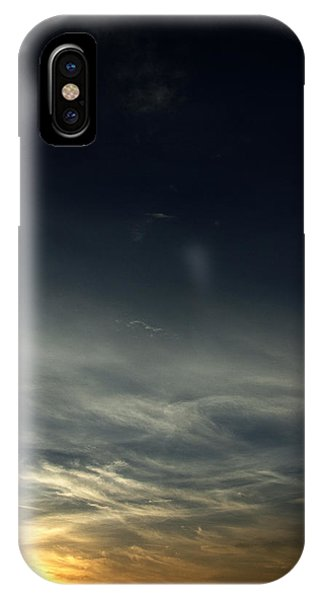 Feathery Clouds IPhone Case