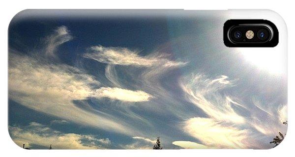 February Skies 1 IPhone Case
