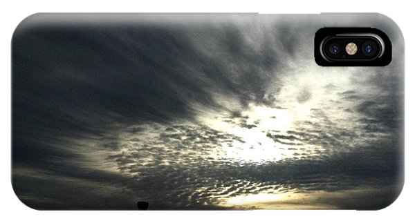 February Skies 2 IPhone Case