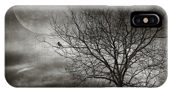 Surrealistic iPhone Case - February Tree by Zapista Zapista