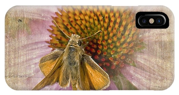 Feeding Moth IPhone Case
