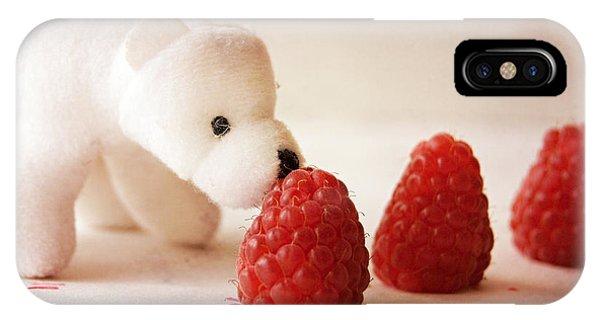 Feeding The Polar Bear I IPhone Case