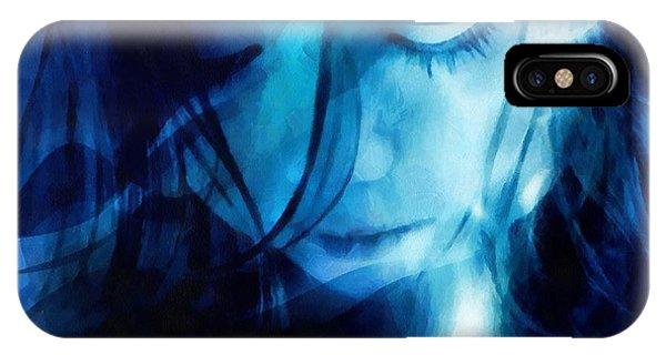 Feeling A Little Blue IPhone Case