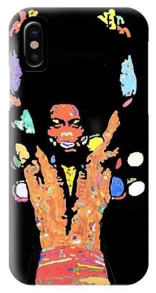 Voodoo iPhone Case - Fela Kuti by Stormm Bradshaw